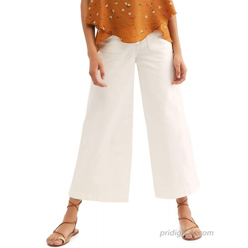 Free People Womens White Jeans Size 26 Waist at  Women's Jeans store
