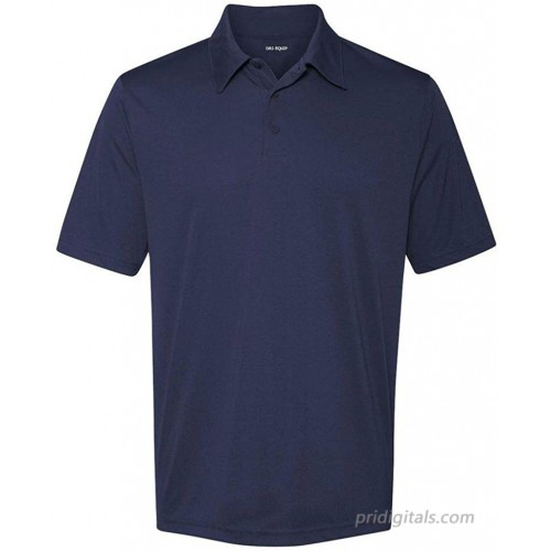 DRIEQUIP Dry-Wicking Performance 3-Button Golf Polos Navy-X-Large at  Women's Clothing store